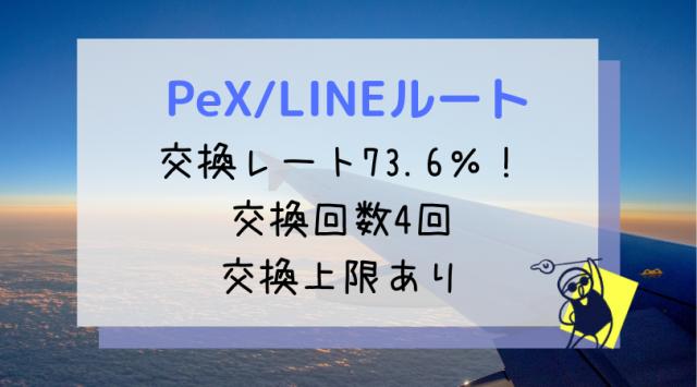 PeX/LINEルート