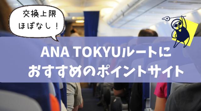 ANA TOKYUとポイントサイト