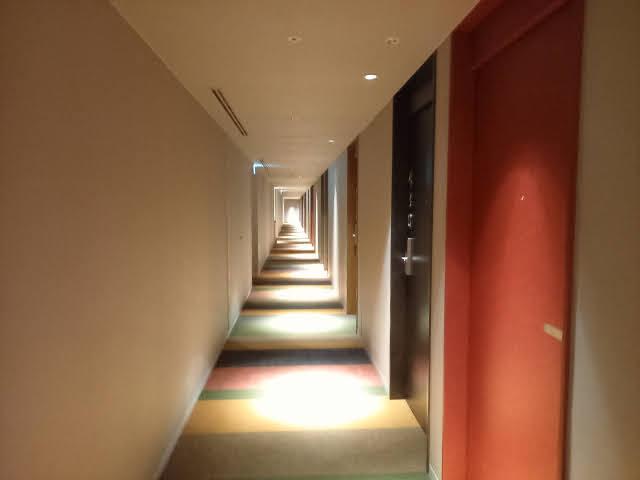 コートヤードバイマリオット東京ステーション廊下
